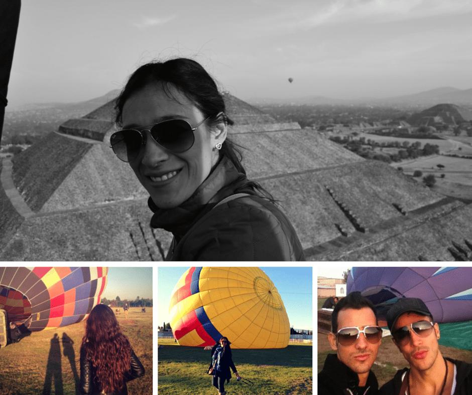 viajes en globo teotihuacán