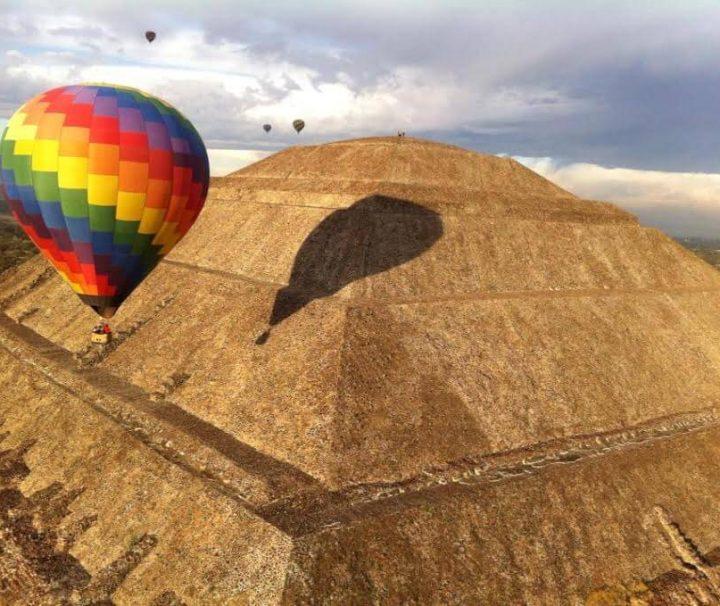 Vuelo Tradicional Teotihuacan