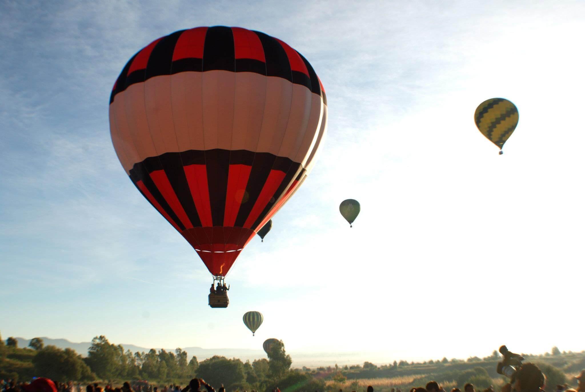 Volar en Globo Aerostatico 2015 Tlaxcala