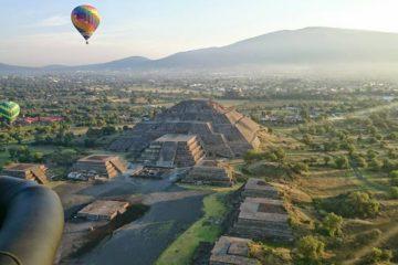 globos aerostaticos piramide del sol
