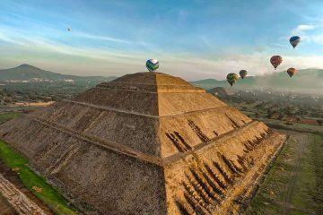 viaje en globo teotihuacan 2020