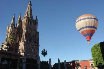 San Miguel de Allende globos