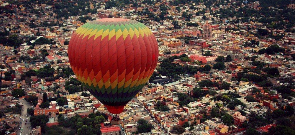 viajes en globo aerostatico en san miguel de allende guanajuato