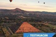 viaje en globo teotihuacan