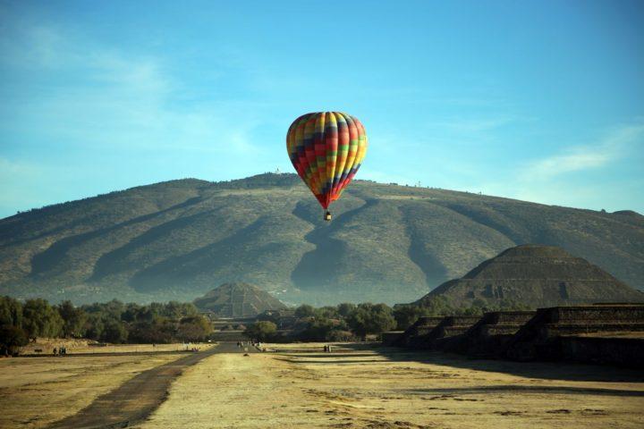 donde rentar un globo en las piramides de teotihuacan