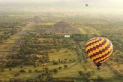 paseo en globo aerostatico teotihuacan