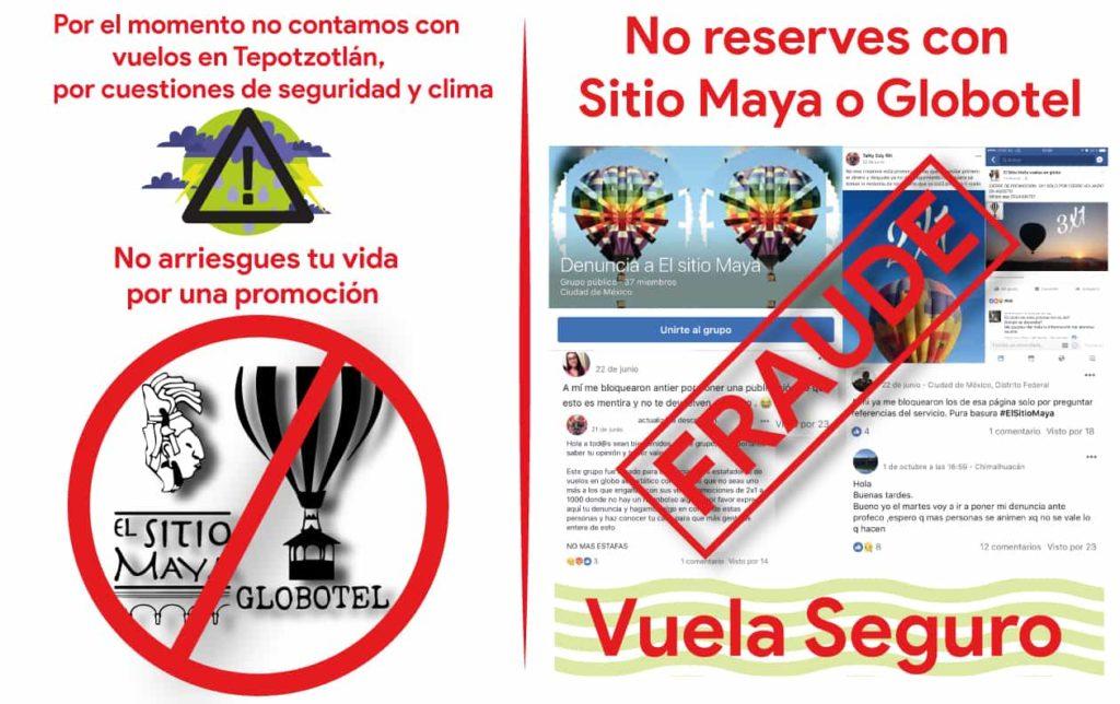 el sitio maya vuelos en globo promociones