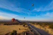 viaje en globo teotihuacan con hospedaje incluido