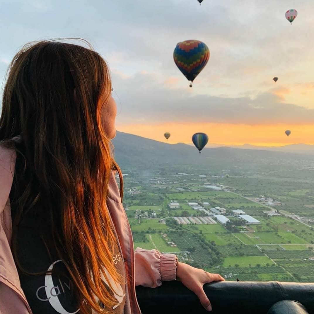 vuelo en globo cumpleaños teotihuacán