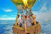 vuelo en globo de cumpleaños