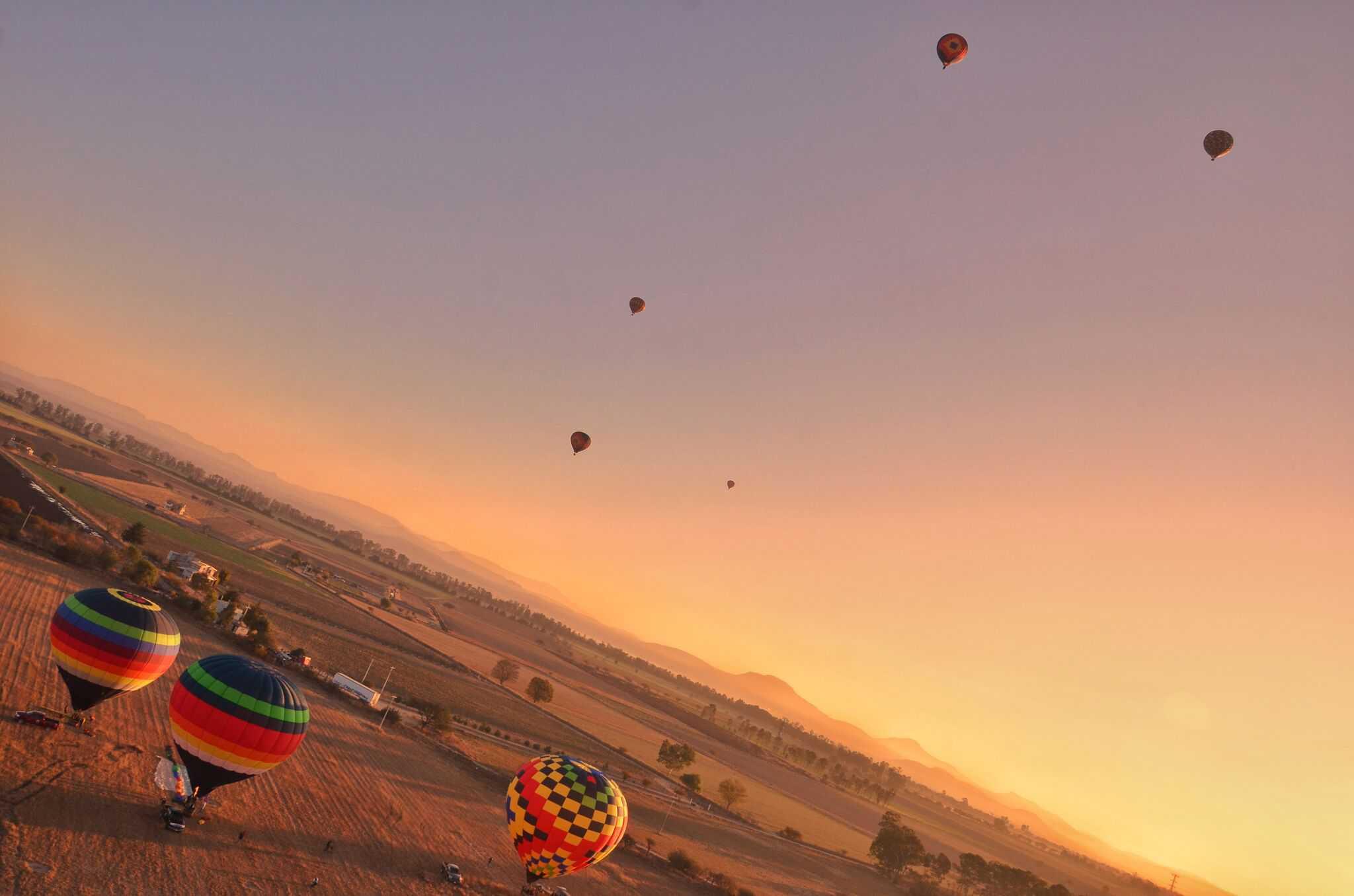 vuelo en globo en Querétaro