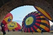 subirse a un globo aerostático en Tequisquiapan