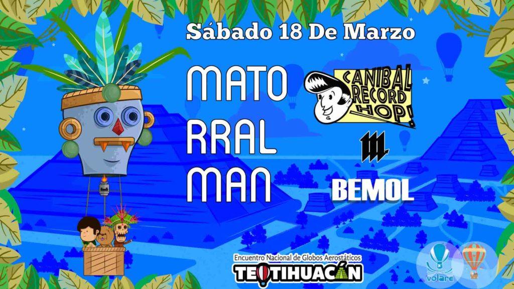 festival del globo en Teotihuacán 2017
