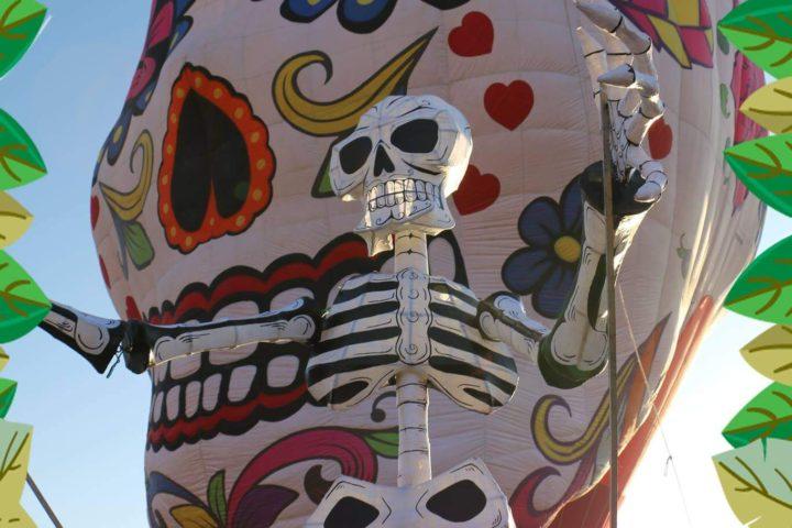 festival del globo en teotihuacan