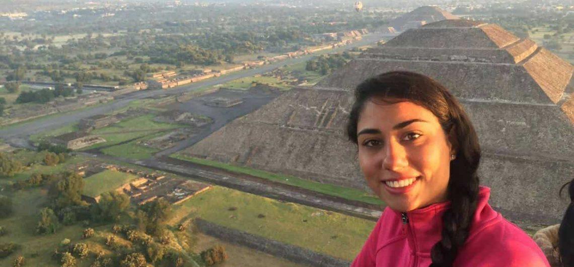 comprar un viaje en globo aerostático pirámides de Teotihuacán