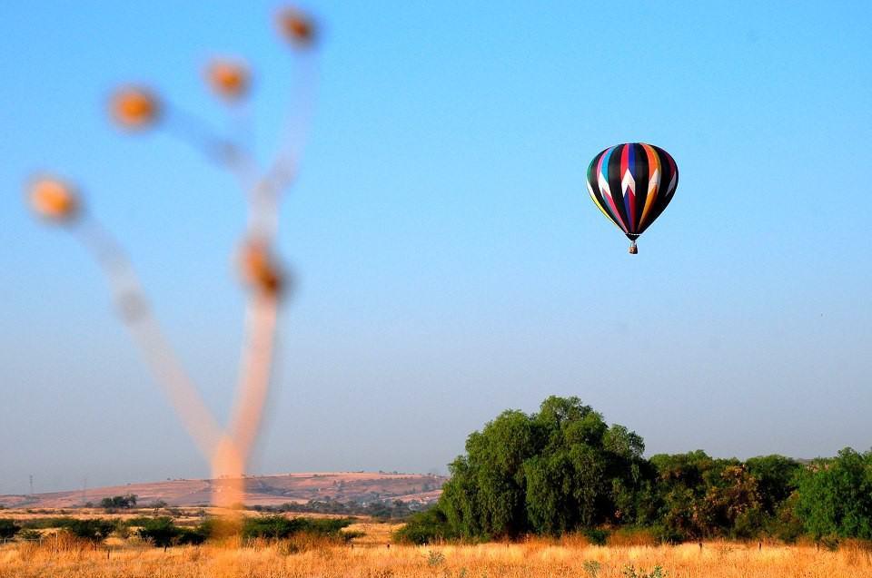 globos aerostáticos en guanajuato