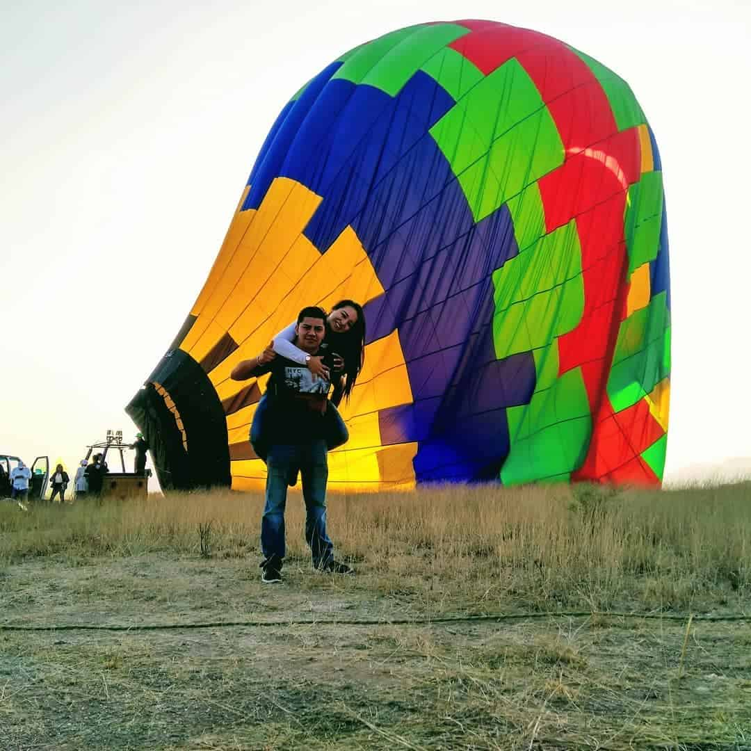 vuelo para parejas privado en Tequisquiapan Querétaro