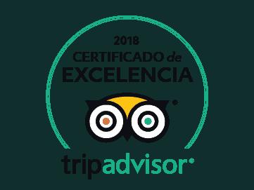 certificado de excelencia 2018 Tripadvisor vuelos en globo mx
