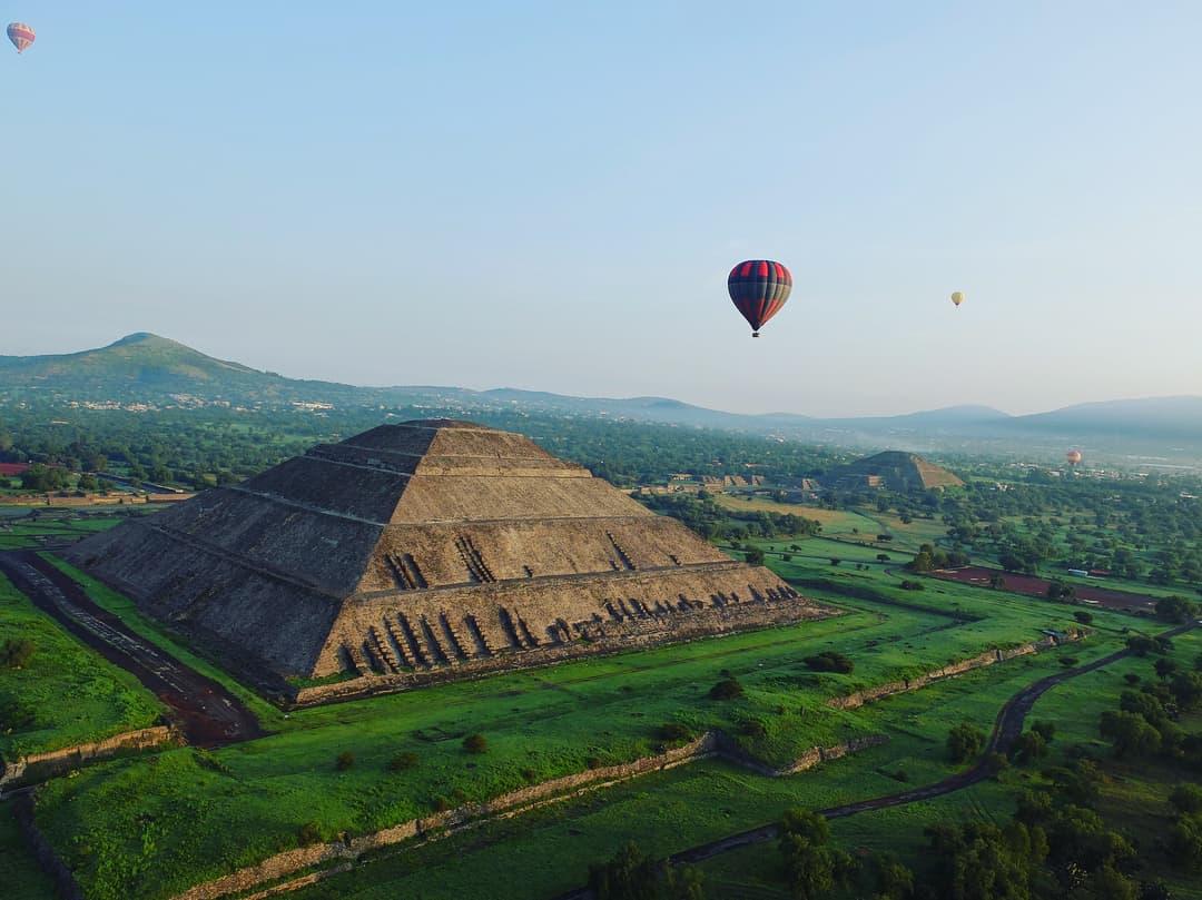 globos aerostáticos en Teotihuacán cuanto cuesta