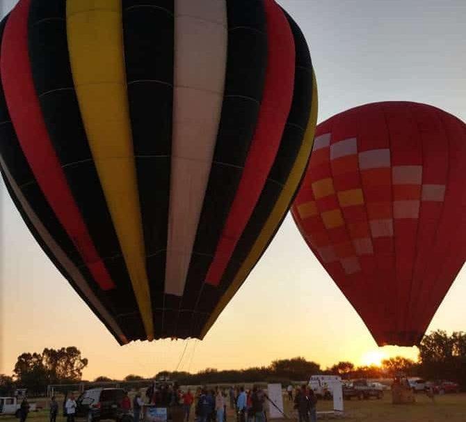 vuelo en globo aerostático en Zacatecas
