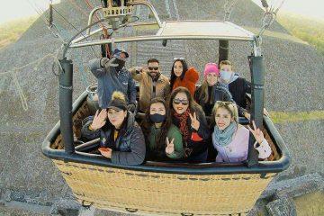 vuelo en globo con transporte privado a teotihuacan