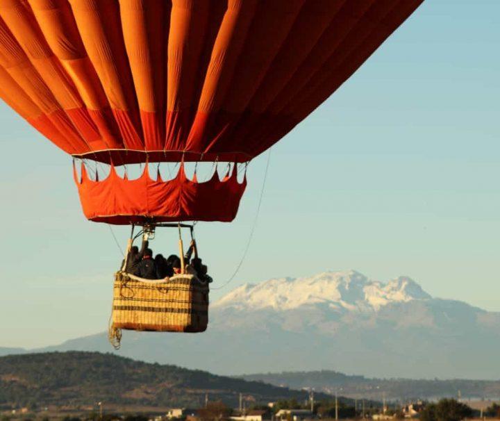 viaje en globo en tlaxco tlaxcala