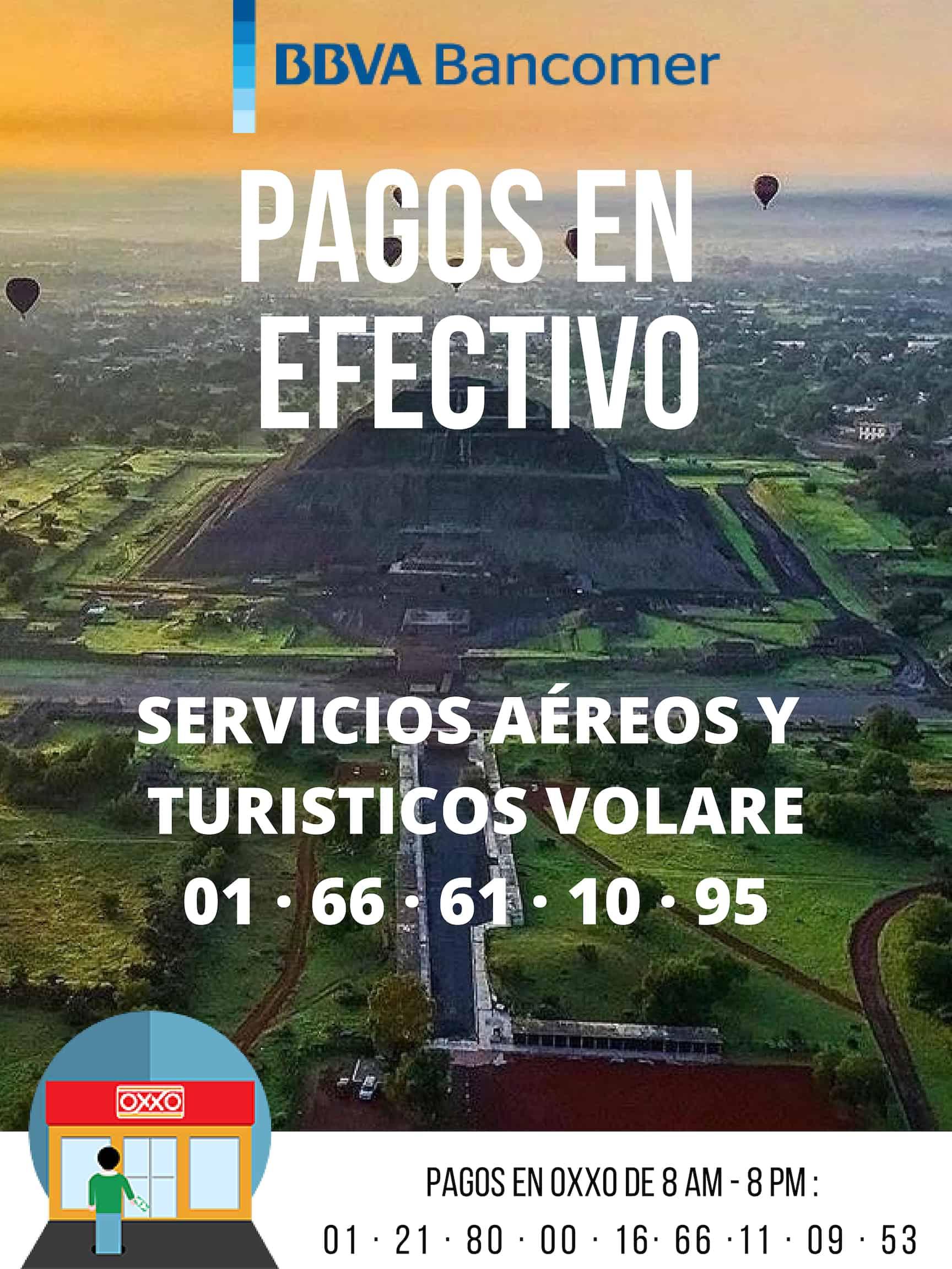 reservar vuelo de cumpleaños en Teotihuacán