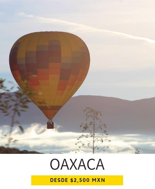 globos aerostáticos en Oaxaca de Juaréz precios
