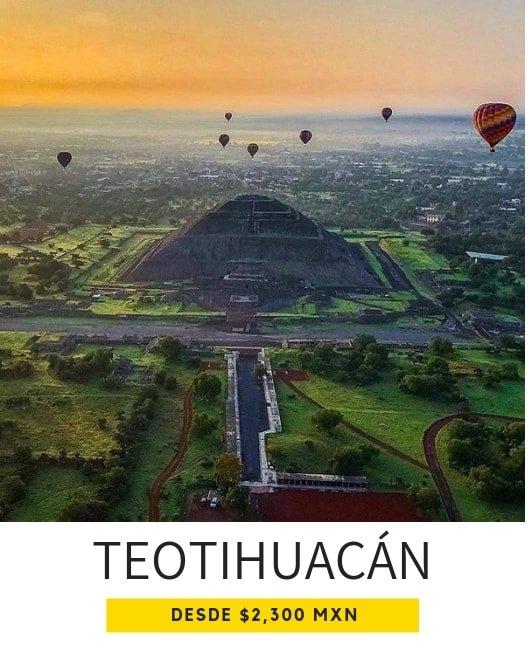 volar en globo Teotihuacán precios