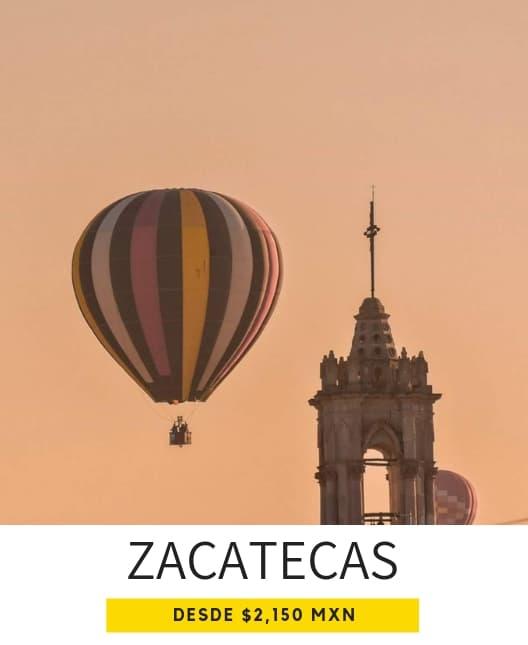 viajes en globo aerostático en Zacatecas Jerez
